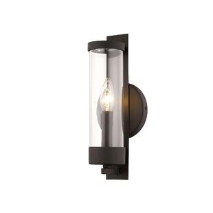 Best Price Barnsley 1-Light Candle Wall Light ByRed Barrel Studio