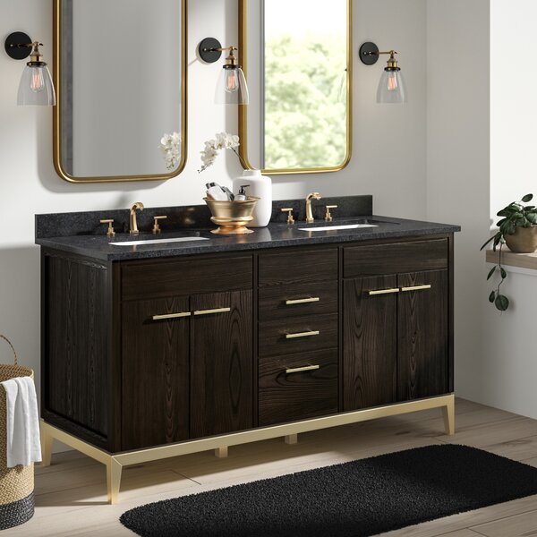 Goree 60 Double Bathroom Vanity Set by Greyleigh