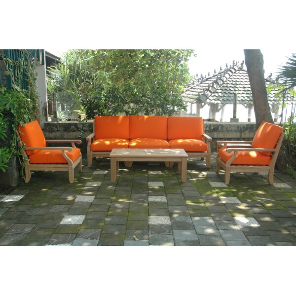 Gatsby Luxe Modular 7 Piece Sectional Seating Group by Rosecliff Heights