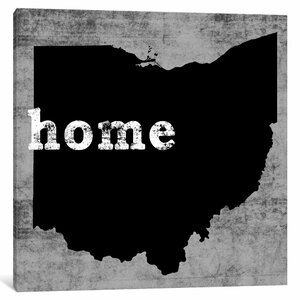 'This is Home Series: Ohio ' Graphic Art Print on Canvas by East Urban Home