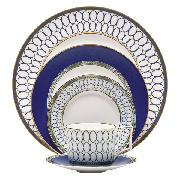 Renaissance 5 Piece Place Setting, Service for 1 by Wedgwood