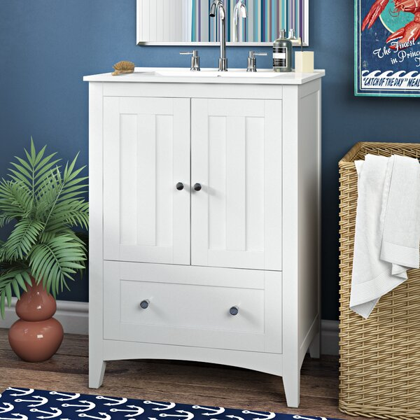 Artic Modern 24 Single Bathroom Vanity Set by Longshore Tides