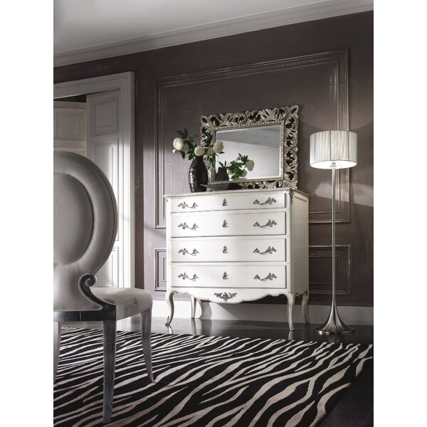 Balceta French 4 Drawer Dresser by One Allium Way