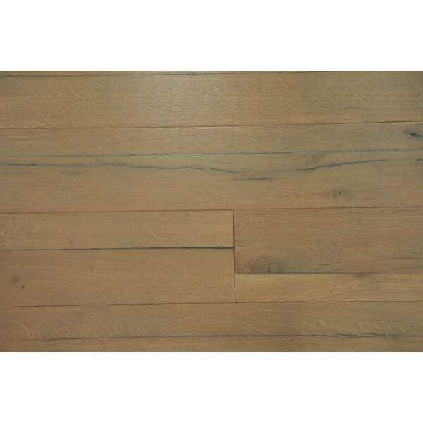 Buckingham 7-1/2 Engineered Oak Hardwood Flooring in Brown by Branton Flooring Collection
