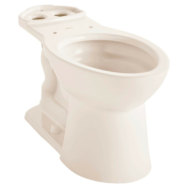 VorMax Dual Flush Elongated Toilet Bowl by American Standard