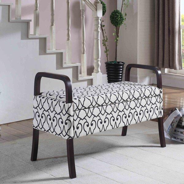 Richard Upholstered Storage Bench by Latitude Run