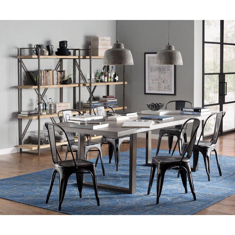 Trent Austin Design Carnarvon Concrete Dining Table & Reviews   Wayfair