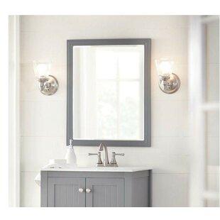 Wooden Frame Beveled Mirror Wayfair
