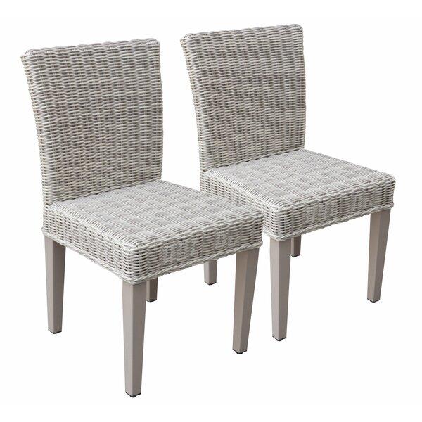 Sana Patio Dining Chair (Set of 2) by Breakwater Bay Breakwater Bay