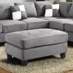 Affordable Bruns Tufted Ottoman By Andover Mills