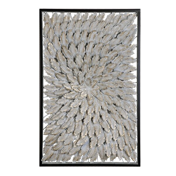 Metal Feathers Wall Décor by Bungalow Rose
