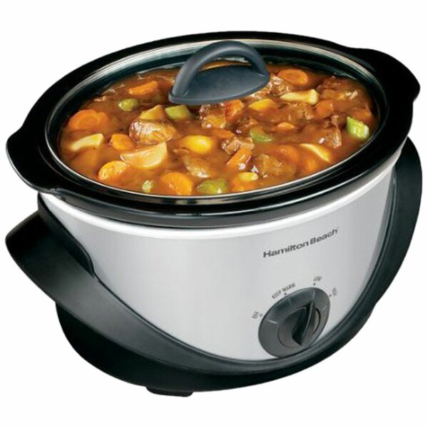 4 Qt. Oval Slow Cooker by Hamilton Beach