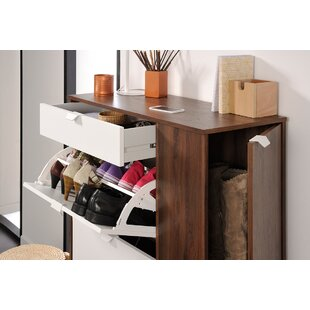 Affordable Prime 10-Pair Shoe Storage Cabinet By Parisot
