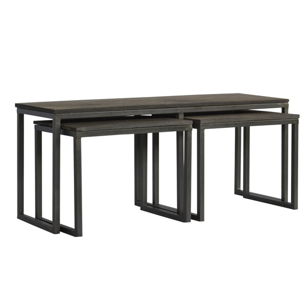 Begum 3 Piece Coffee Table Set by 17 Stories