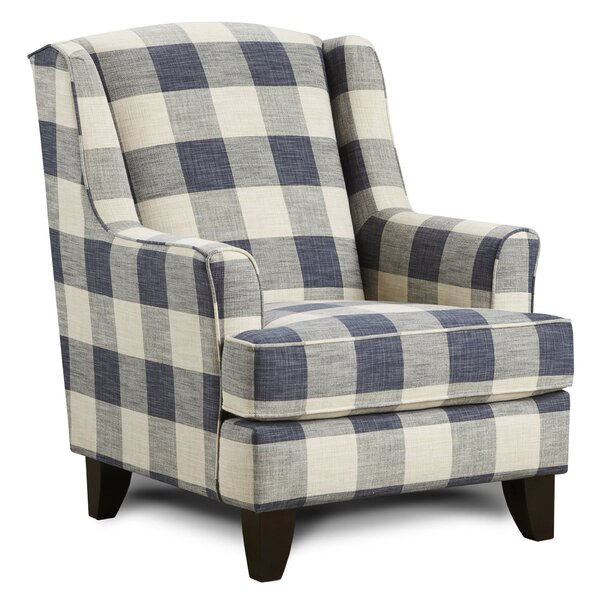 Saniyah Wingback Chair by Darby Home Co Darby Home Co