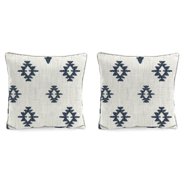 Lagan InsideOut® Indoor / Outdoor Geometric Thow Pillow (Set of 2)