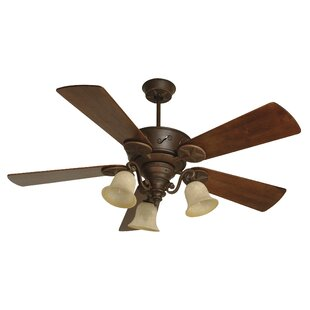 Buy luxury 54 Osmond 5 Blade Outdoor Ceiling Fan with Remote By Charlton Home