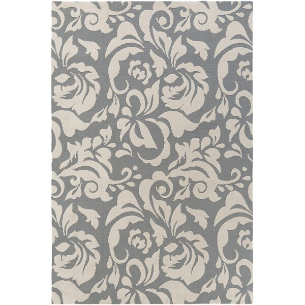 Ducote Gray/Ivory Area Rug by Charlton Home