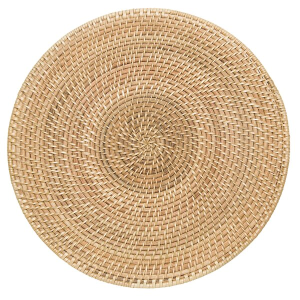 Cresthaven Round Placemat by Highland Dunes