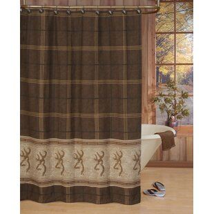 Affordable Buckmark Cotton Shower Curtain ByBrowning