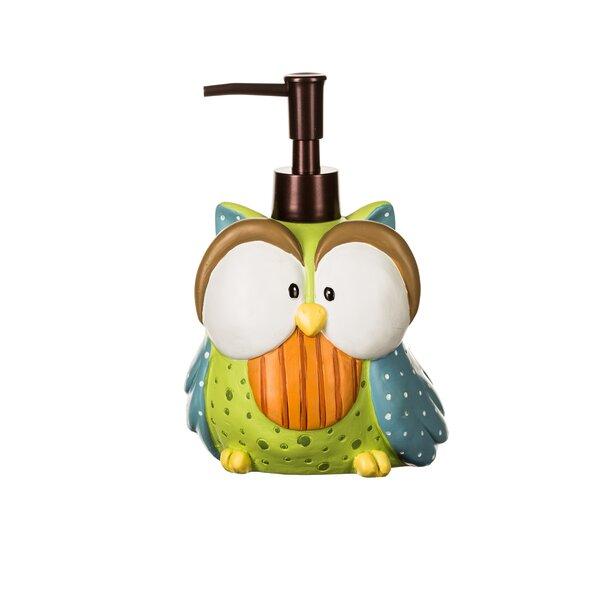 Encline Owl Soap & Lotion Dispenser by Harriet Bee
