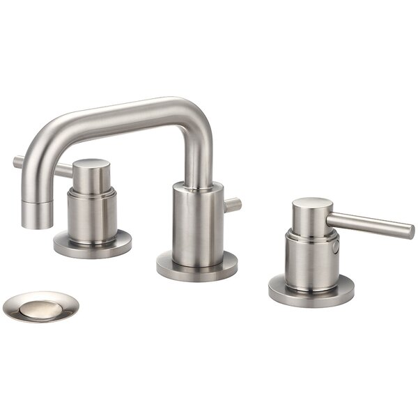 Motegi Widespread Bathroom Faucet with Drain Assembly by Pioneer