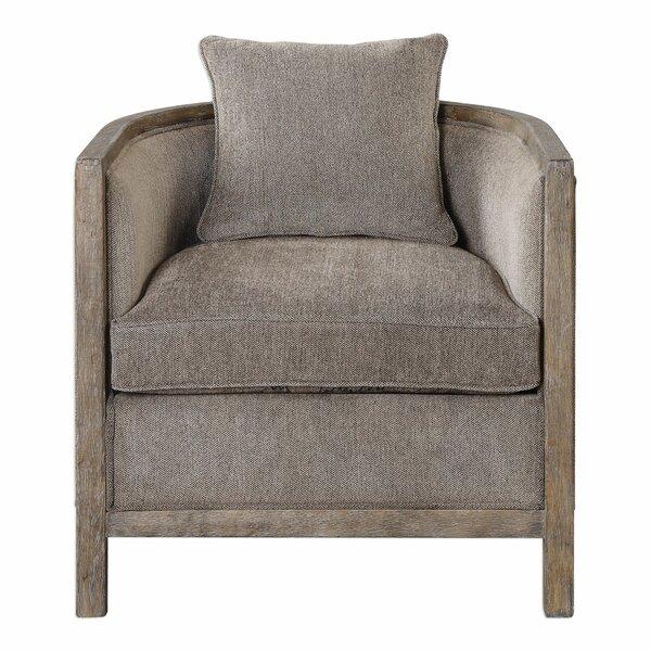 Pokorny Barrel Chair by Gracie Oaks