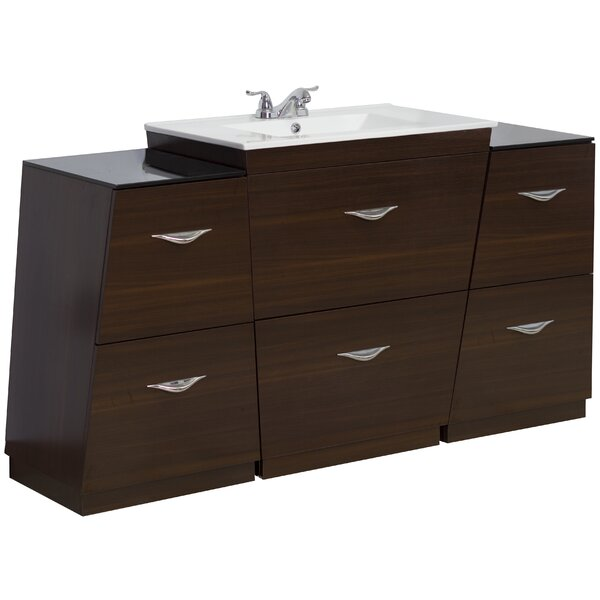 60 Single Modern Bathroom Vanity Set by American Imaginations