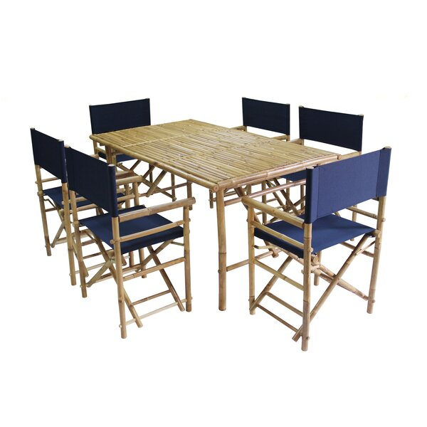 7 Piece Dining Set by ZEW Inc