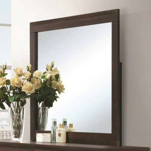 Square Dresser Mirror by Mercury Row