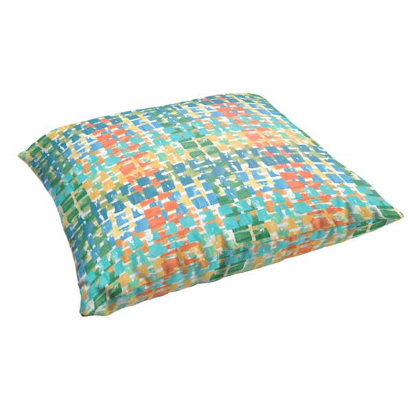 Momea Corded Indoor/Outdoor Floor Pillow by Bungalow Rose