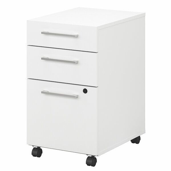 400 Series 3-Drawer Mobile Vertical Filing Cabinet by Bush Business Furniture