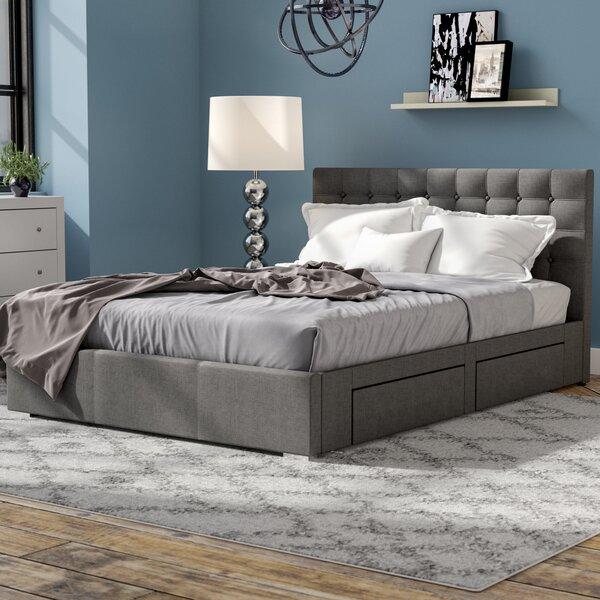 Myrrine Upholstered Storage Platform Bed by Latitu