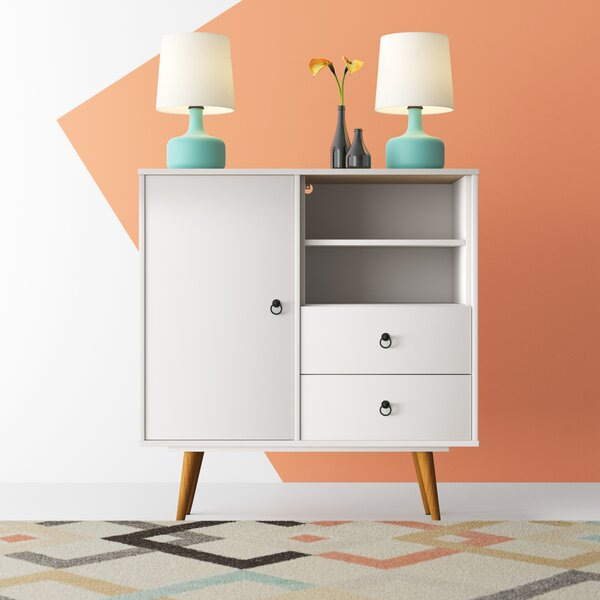 Cicero 2 Drawer Combo Dresser by Hashtag Home
