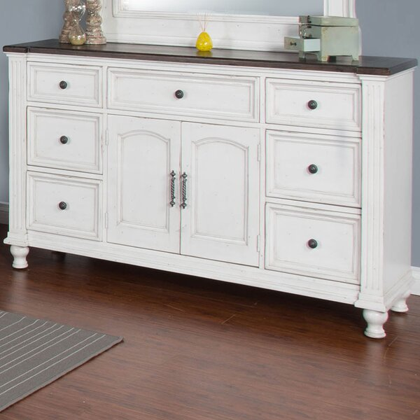 Villepinte 7 Drawer Combo Dresser by August Grove