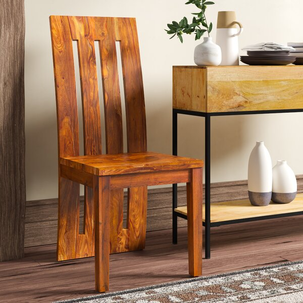 Avelar Solid Wood Dining Chair (Set of 2) by Loon Peak