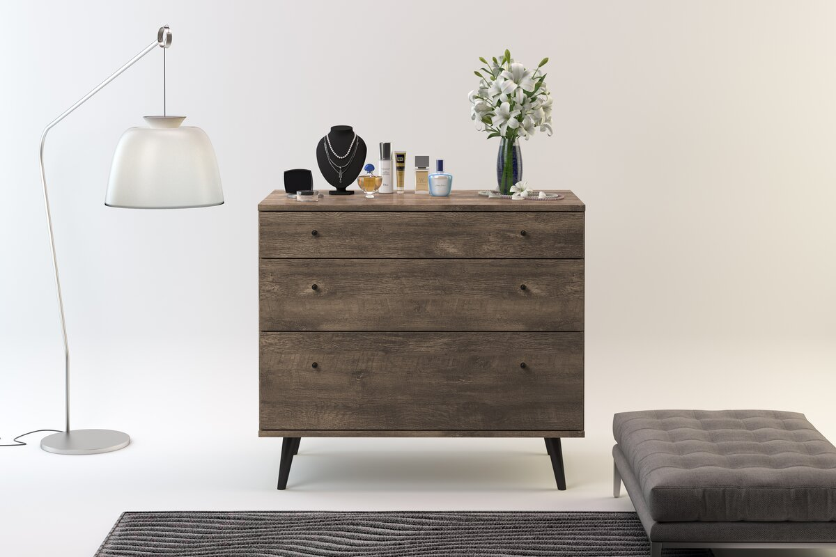 small leg top and wash paneled turned daphne dawer zinc products petite fronts dresser with grey drawer