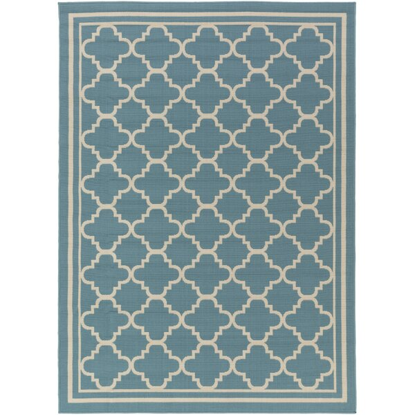 Osage Slate Indoor/Outdoor Area Rug by Charlton Home