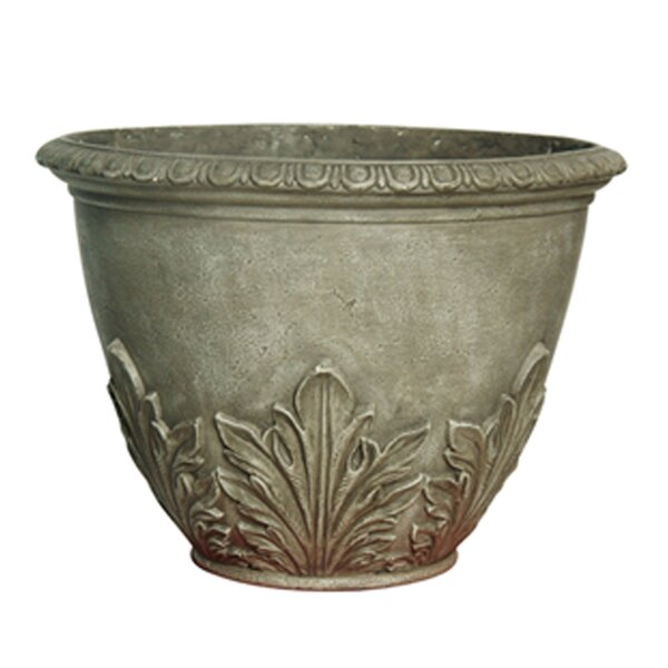 Fiberclay Pot Planter (Set of 2) by Winsome House