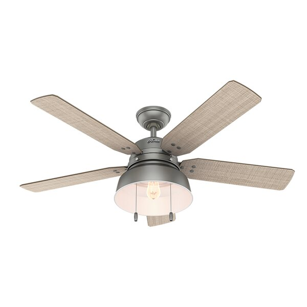 52 Mill Valley 5 Blade Outdoor Ceiling Fan by Hunt