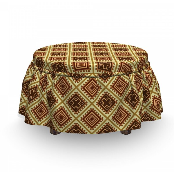 Inspirations Ottoman Slipcover (Set Of 2) By East Urban Home