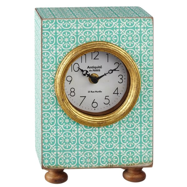 Desk Clock by Bungalow Rose