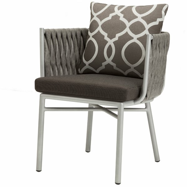 Horton Patio Dining Chair by Bungalow Rose Bungalow Rose