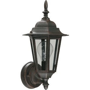 Comparison Dulvert 1-Light Outdoor Sconce By Charlton Home