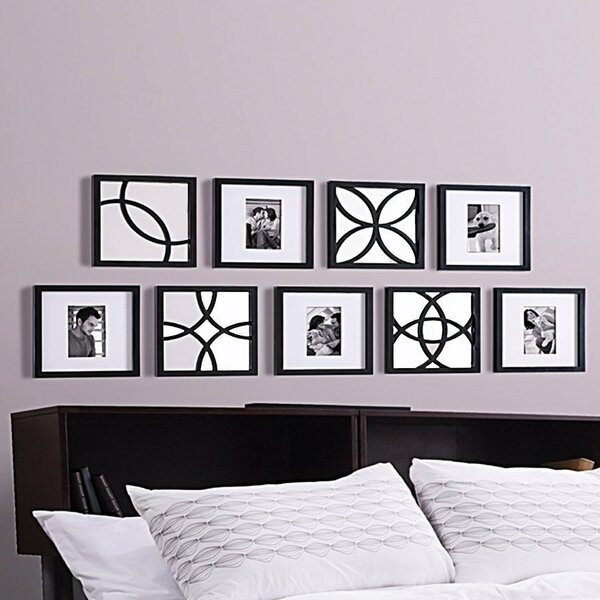 9 Piece Cherine Picture Frame Set by Red Barrel Studio