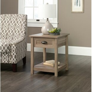 Read Reviews Rossford 1 Drawer Nightstand ByThree Posts