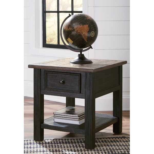 Edmore End Table By Canora Grey Discount