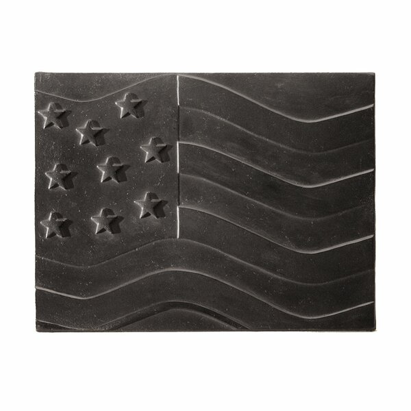 American Flag Cast Iron Fire Back by Minuteman International
