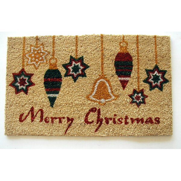 Ornaments Merry Christmas Doormat by Geo Crafts, Inc
