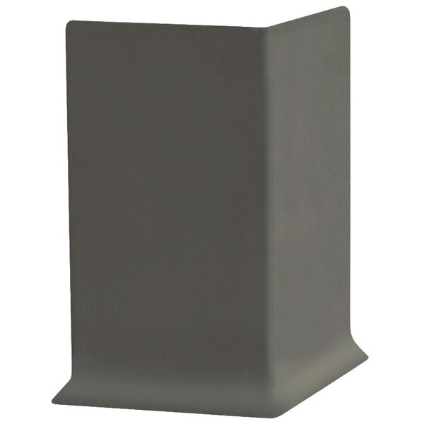 2.25 x 4 x 2.25 Cove Molding in Charcoal (Set of 25) by ROPPE